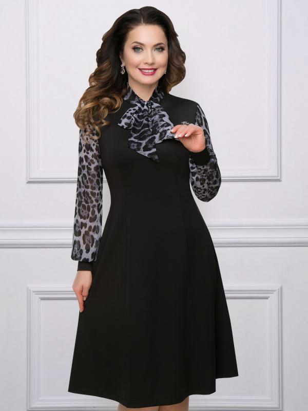 Платье Дива носит прада (леопард)