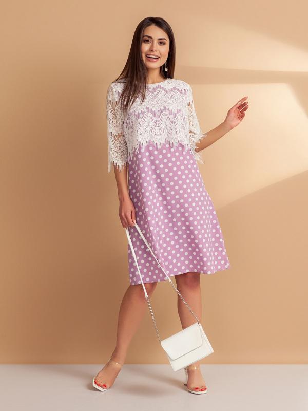 Платье В стиле Живанши (пинк)