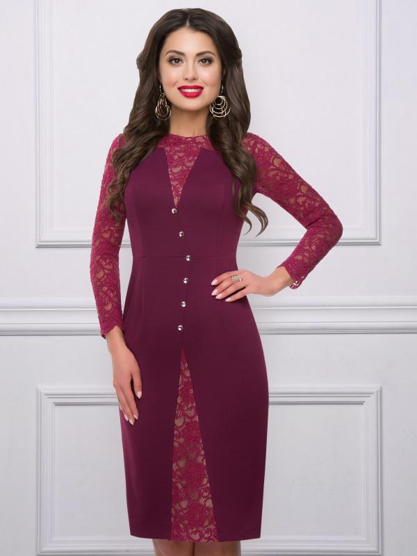 Платье Империя роскоши (рубин)