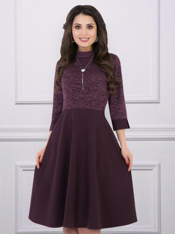 Платье Люблю Шанель (каберне)