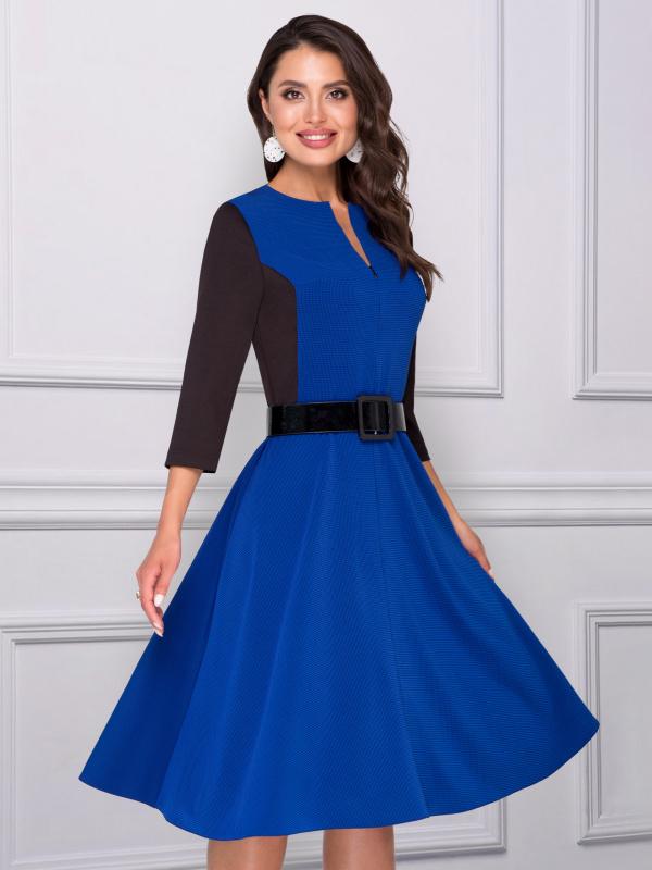 Платье Бродвей (эффект, с ремешком)