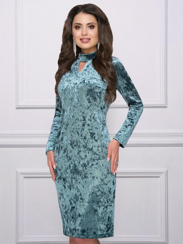 Платье Достойно королевы (лазурь)