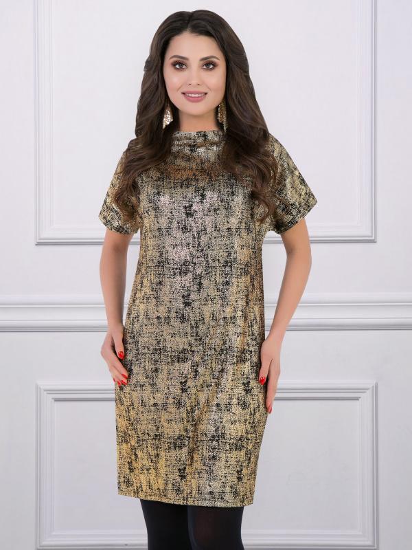 Платье-туника Драгоценная (нью голд)