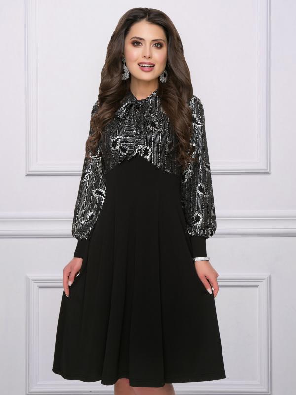 Платье Ночное рандеву (серебро)