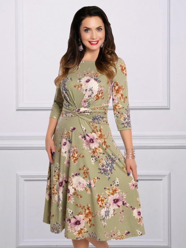 Платье Очарование Мэрилин (зелёная пастель)
