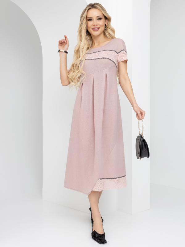 CHARUTTI    Платье Стильный ланч (пудровая роза)