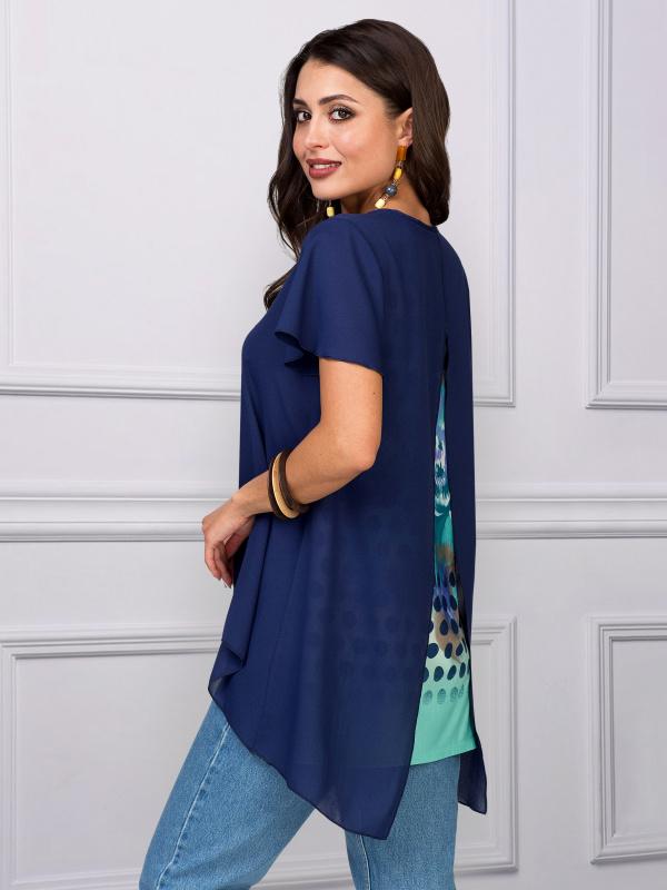 Блуза Девушка - загадка
