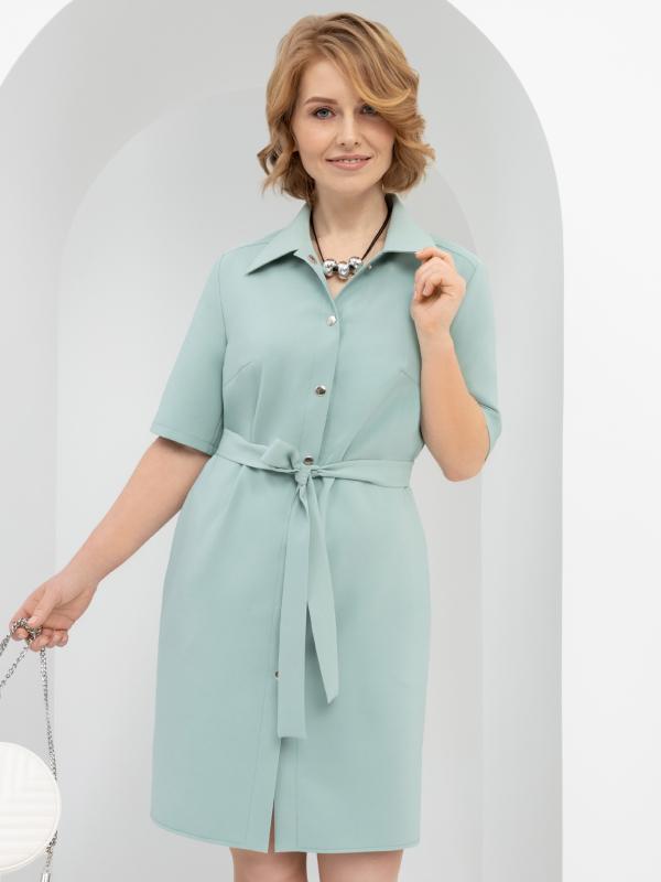 Charutti   Платье-рубашка Подчеркнуть женственность (с поясом)