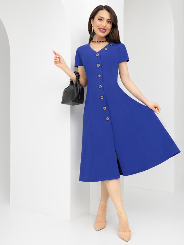 CHARUTTI    Платье Принимаю комплименты (сапфир)