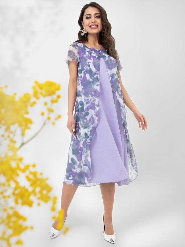 Платье Марафон желаний (сирень)