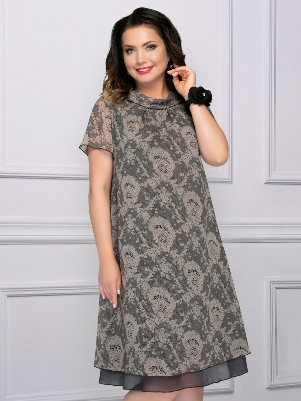 Платье Мечтательная (брауни)