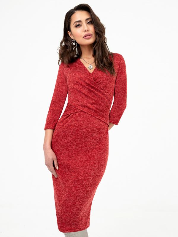 Платье Ода любви (сочный красный)                                                        СНОВА В ПРОДАЖЕ
