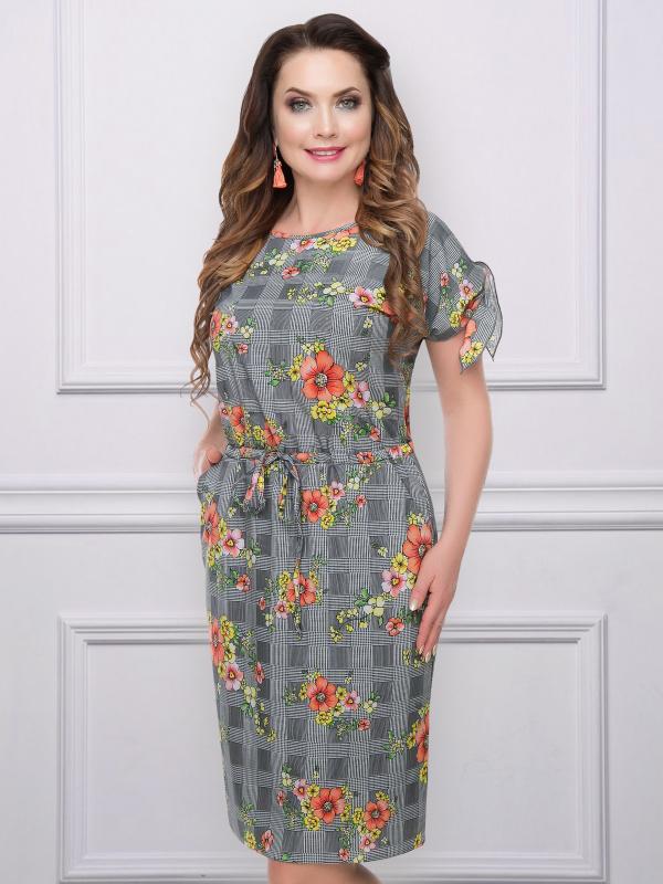 Платье Фэнди Руж (оранж)