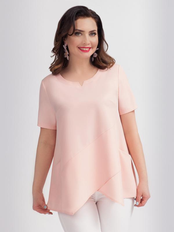 Блуза Хитовая (розовый лепесток)