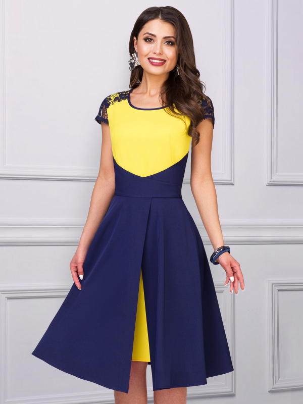 Платье Суперкласс (солнечный луч любви)