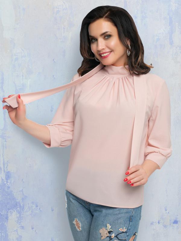 Блуза Стиль в большом городе (пудра)