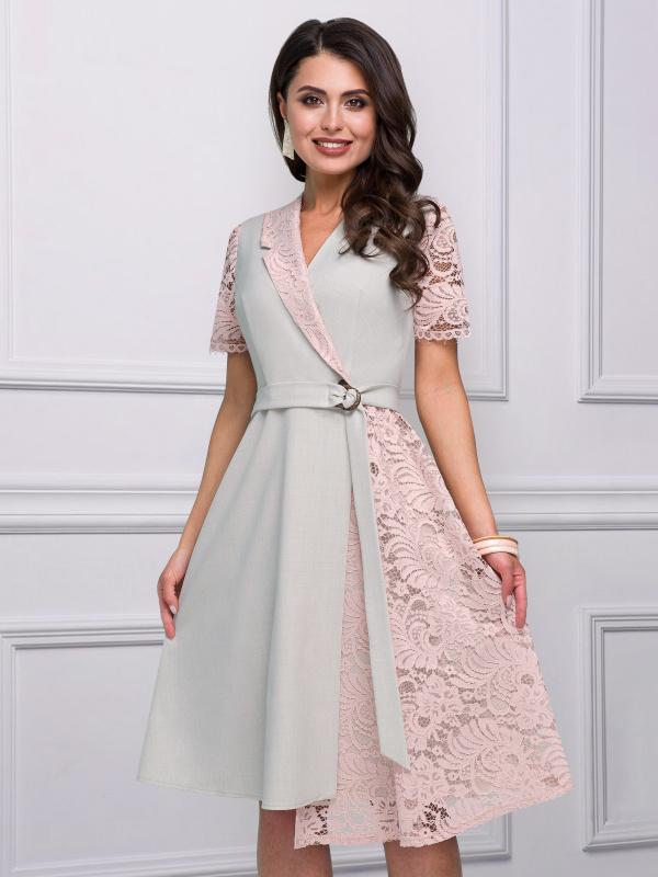 Платье Чаруй, своди с ума! (розовый жемчуг)