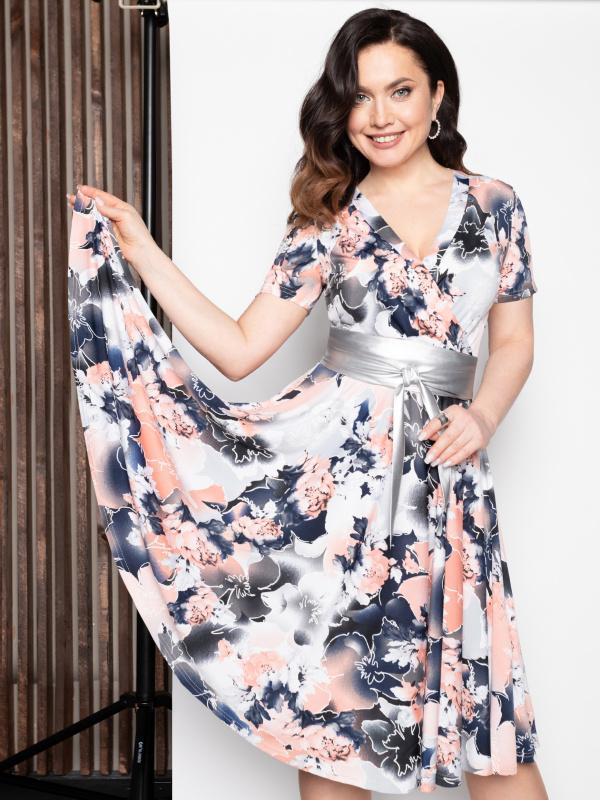 Платье Бонжур, леди! (классная, с поясом)