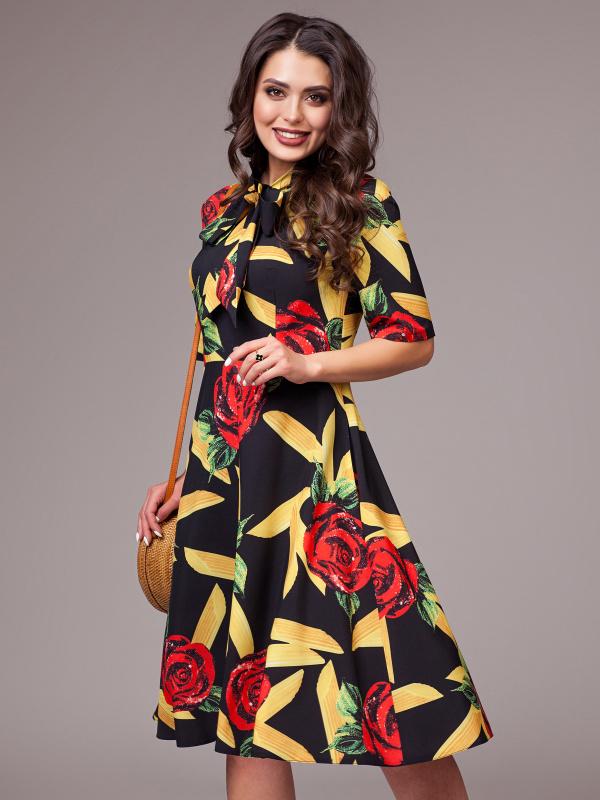 Платье Все краски счастья