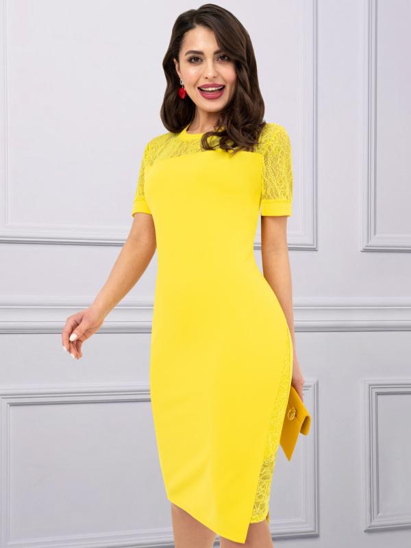 Платье В стиле Дольче (солнце)
