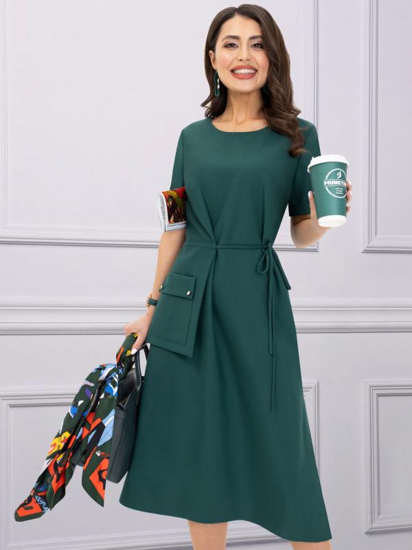 Платье Пример для подражания (изумруд)