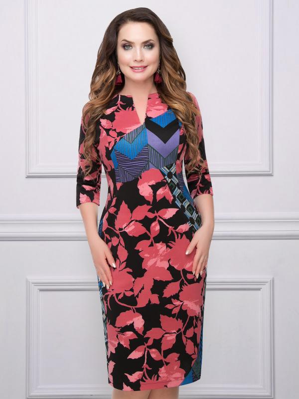 Платье Орнелла (яркая)