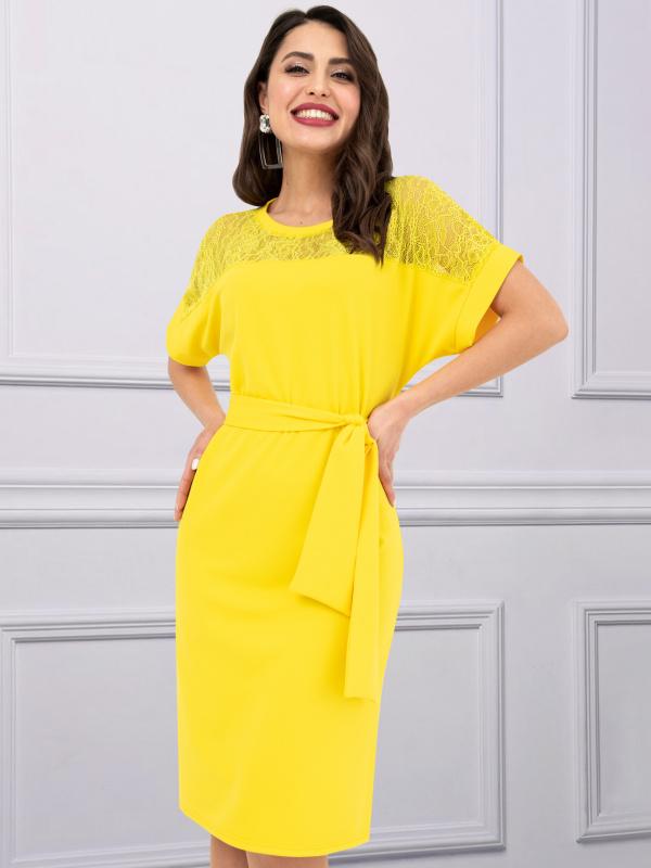 Платье Женевьева лайт (солнце)