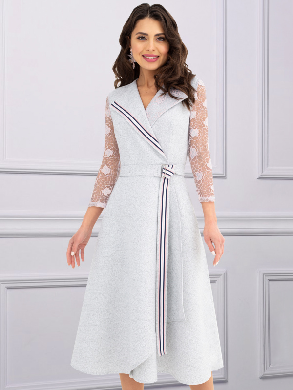 Платье Дорого-богато (сильвер пинк)
